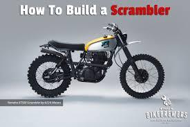 how to build a scrambler bikebrewers com