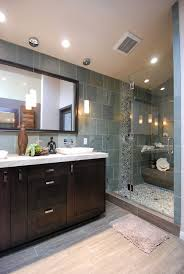 river rock tile this really shows the versatility of the tile your shower floor or bathroom can really get a pop of style when using pebble tile