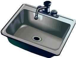kitchen sink clipart black and white. kitchen sink clipart free images 3 black and white n