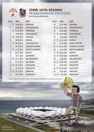 Cemil Usta Sezonu Fikstür Posterini Resmi Sitemizden İndirebilirsiniz |  Trabzonspor Kulübü Resmi Web Sitesi