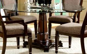 startling dining furniture chairs design round glass dining