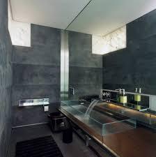 modern white bathroom dark wood  modern black and white interior bathroom design ideas for small aparm