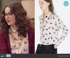 Delia's bird print shirt on I Didn't Do It | Printed shirt outfit, Printed  shirts, Disney inspired fashion