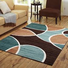 teal and brown rug good extraordinary blue and brown area rugs in better homes gardens geo waves rug or runner com