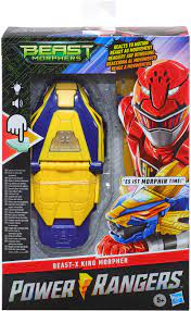"Hasbro Blaster ""Power Rangers, Beast Morphers, Beast-X King Morpher"" auf  Rechnung bestellen"