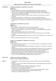 Best Solutions Of Resume Commercial Property Manager Mercial