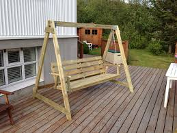 Bench Pallet Pergola Stunning Wooden Swing Bench Diy Projects