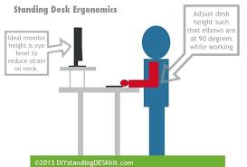 what is desk height standing desk kit ergonomics desk riser height adjustment blocks