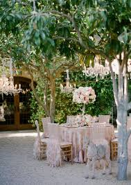 outdoor wedding decorations chandeliers weddingelation