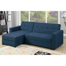 blue sleeper sectional. Plain Sleeper Danos Reversible Sleeper Sectional Inside Blue E