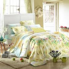 blue green and yellow rustic scene and