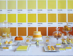 Pantone Themed Birthday Party Inspired By This