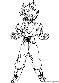 Small Picture dbz color Dragon Ball Z Coloring Pages 030 Projects to Try