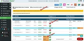 Time Sheet Online Online Timesheets Timesheet Mobile Time Sheet Mobile