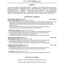 Free Combination Resume Template Resume Sample Combination Format Cover Letter And Resume Samples 77