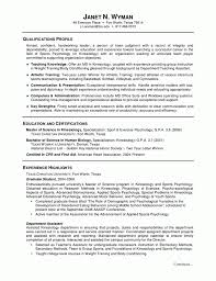 Resume Examples For Graduate School Application