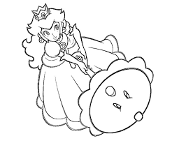Small Picture Free princess peach coloring pages to print ColoringStar