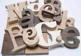 wooden letters any font any size craftcuts in wood letters