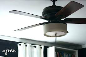 drum shade ceiling fan drum shade ceiling fan light kit leiventureco drum lamp shade ceiling fan