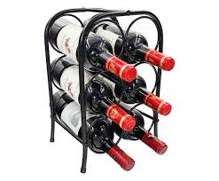 Small wine racks Ikea Details About Pag Bottles Free Standing Metal Wine Racks Small Wine Holders Stands Ebay Pag Bottles Free Standing Metal Wine Racks Small Wine Holders
