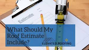What Should My Roof Estimate Include? | Elevated Roofing | Frisco, Tx