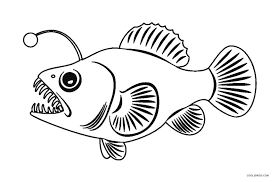 Fifteen free printable fish outline pages to use for fish crafts and activities. Free Printable Fish Coloring Pages For Kids