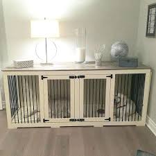 diy dog crate table interior and furniture design wonderful dog crates that look like furniture of
