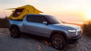 Rivian amps up adventure with 400-mile all-electric pickup truck