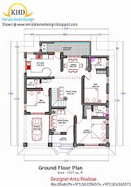 2000 sqft 4 bedroom house plans kerala new kerala style house