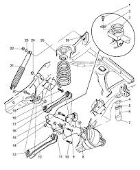 1997 jeep grand cherokee suspension rear springs shocks diagram 00i44203