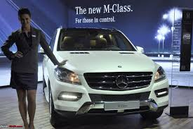new car launches team bhpThe new Mercedes MClass W164 launched  Starting at Rs 56