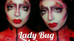 avant garde lady bug makeup tutorial