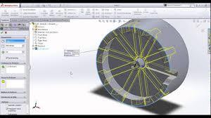 Circular Pattern Solidworks