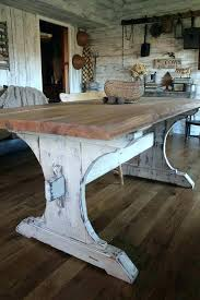 rustic table top ideas used farm table for amazing of rustic kitchen table best ideas