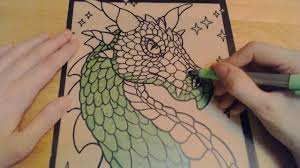 coloring with markers. Wonderful Coloring ASMR Sounds Of Coloring With Markers  Ear To Breathing Mouth  Sounds  YouTube For With W