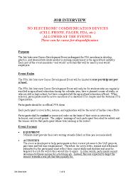 Resume Sample Cover Letter For Job Interview Best Inspiration For
