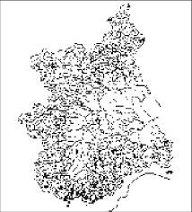 Distribuzione di Silene campanula secondo i dati dell'Herbarium ...