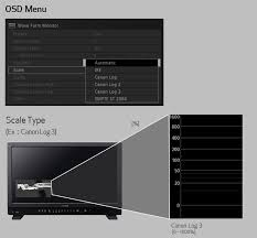 4k uhd reference displays dp v2420 canon usa hdr range variable adjustment function variable adjustment of the hdr range is possible to suit specific applications for example the dynamic range of the