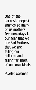 Best nine influential quotes by ayelet waldman image Hindi via Relatably.com