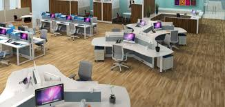 office layout. Open Office Versus Privacy: Cubicles Offer The Best Of Both Worlds Layout