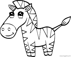 Welcome to the zebra coloring pages 3 page! Zebra Coloring Pages Coloringall
