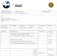 Quotation Proforma Format Sample Quotation Format For Export Proforma Quote Our Proforma
