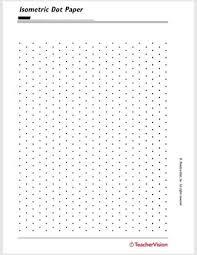 Isometric Dot Paper Teachervision