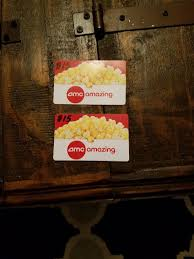amc theaters gift card 24 50 pic