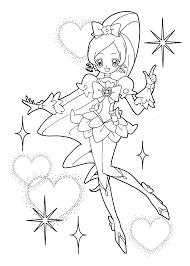 Small Picture Heart catch Pretty cure coloring pages for kids printable free