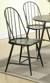metal dining chair metal dining chair black