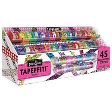 Fashion Angels Tapeffiti <b>Deluxe</b> 45 <b>Decorative</b> Tapes With Caddy ...