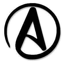 All Rights Reserved Symbol Atheist Symbol Vinyl Logo Cutout Window Sticker