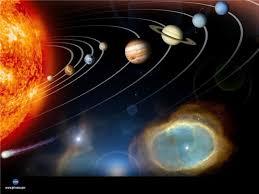 Проект Мы живём в космосе класс Окружающий мир  Планеты не раскалены и не излучают собственного света Вокруг Солнца по своим орбитам движутся 8 планет Меркурий Венера Земля Марс Юпитер Сатурн