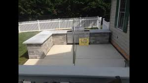 outdoor kitchen built in grill bar installation hanover pa area ryan s landscaping you